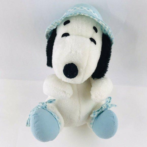 "vintage 9"" Knickerbocker Peanuts Baby Snoopy Plush"